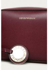 Emporio Armani - Torebka Y3B092.YH15A. Kolor: fioletowy. Rodzaj torebki: na ramię