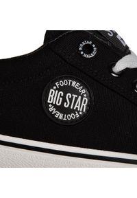 Czarne półbuty Big-Star z cholewką, casualowe