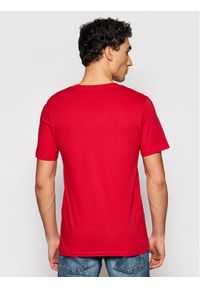 Czerwony t-shirt Jack & Jones