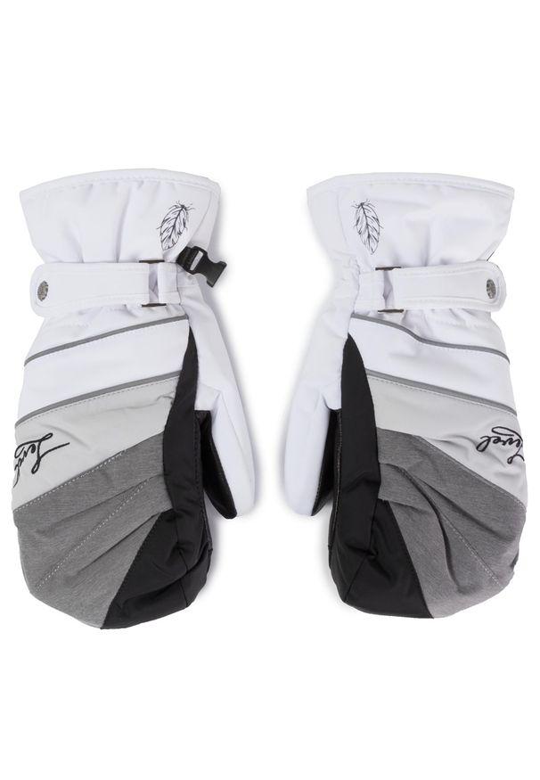 Biała rękawiczka sportowa Level narciarska