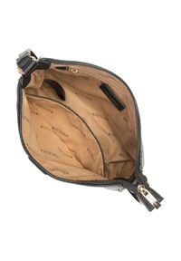 Wittchen - Torebka na ramię z doczepianą saszetką. Kolor: czarny. Dodatki: z breloczkiem. Materiał: skórzane. Styl: klasyczny. Rodzaj torebki: na ramię