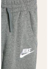 Szare spodnie dresowe Nike Kids