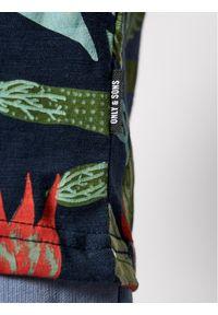 Only & Sons T-Shirt Klop 22020078 Kolorowy Regular Fit. Wzór: kolorowy