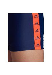 Adidas - Kąpielówki męskie adidas Tapered Swim Briefs FJ4724. Materiał: tkanina, elastan, nylon, materiał. Długość: długie