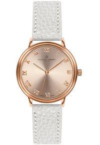 Biały zegarek Frederic Graff elegancki