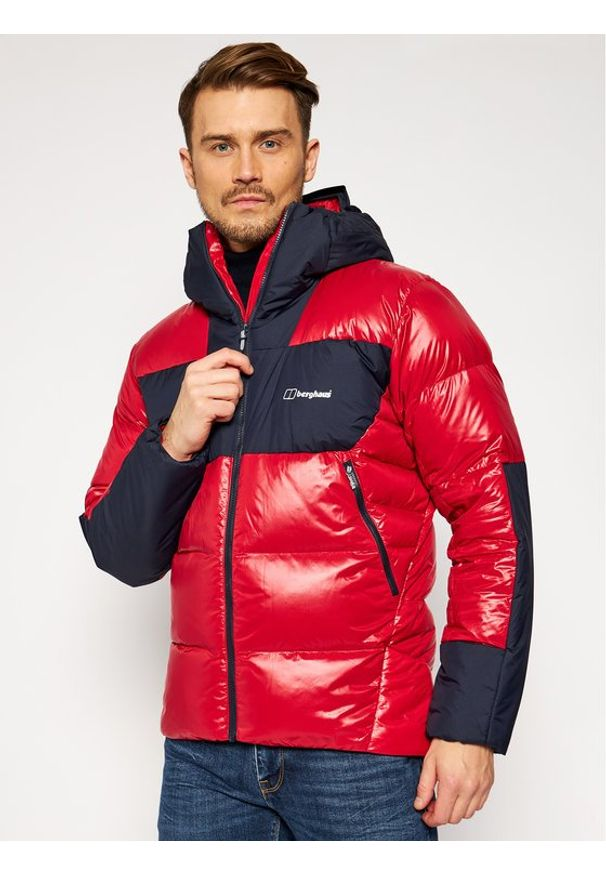 Czerwona kurtka puchowa Berghaus