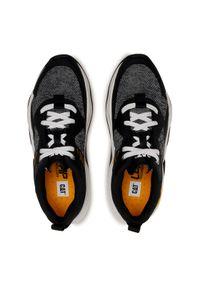 CATerpillar Sneakersy Groundwork Mesh P110396 Czarny. Kolor: czarny. Materiał: mesh #6