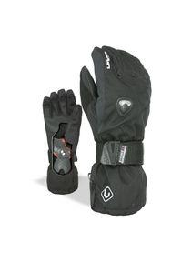 Rękawice Level Fly Junior 4001JG. Materiał: skóra, polar, materiał. Sezon: zima. Sport: snowboard