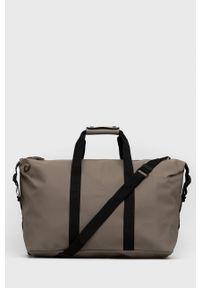 Rains - Torba 1320 Weekend Bag. Kolor: beżowy