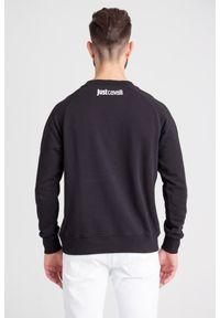 Bluza Just Cavalli z kapturem, klasyczna
