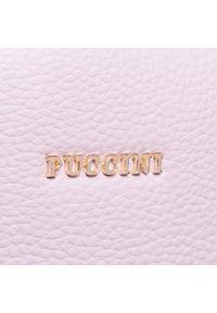 Puccini - Plecak PUCCINI - BK121926 3C. Kolor: różowy. Materiał: skóra