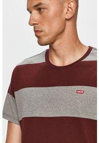 Wielokolorowy t-shirt Levi's® z okrągłym kołnierzem, na spotkanie biznesowe