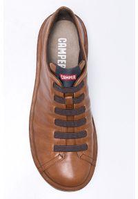Camper - Buty. Nosek buta: okrągły. Zapięcie: sznurówki. Kolor: brązowy. Szerokość cholewki: normalna