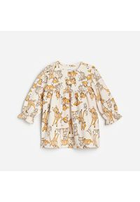 Kremowa sukienka Reserved