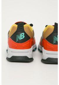 Sneakersy New Balance na sznurówki, z cholewką