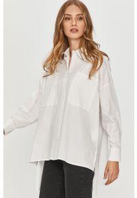 Biała koszula Answear Lab długa, na co dzień