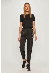 Czarne spodnie materiałowe TALLY WEIJL na co dzień, casualowe