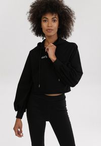 Born2be - Czarne Legginsy Mangoflame. Kolor: czarny