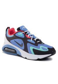 Fioletowe buty sportowe Nike Nike Air Max, z cholewką
