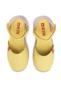Żółte sandały Big-Star