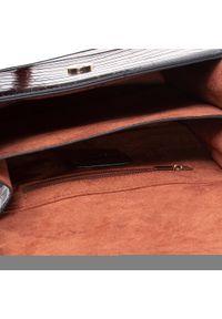 Czarna torebka klasyczna Monnari z aplikacjami, na ramię, zdobiona