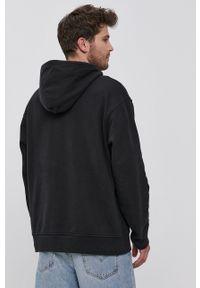 Levi's® - Levi's - Bluza bawełniana. Okazja: na co dzień, na spotkanie biznesowe. Kolor: czarny. Materiał: bawełna. Wzór: nadruk. Styl: biznesowy, casual