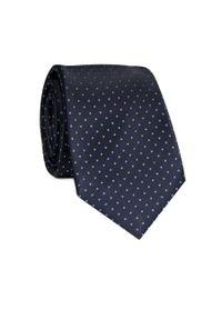 Krawat Giacomo Conti w kropki, elegancki