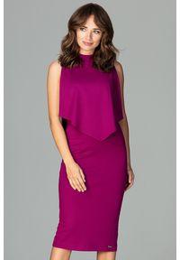 Sukienka ołówkowa, elegancka, midi