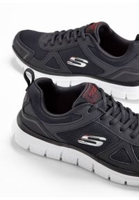 Czarne buty sportowe bonprix