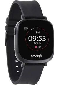 Czarny zegarek Xlyne smartwatch
