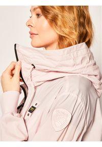 Różowa kurtka przejściowa Blauer