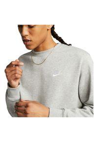 Bluza męska Nike Sportswear Club BV2666. Materiał: dzianina, bawełna, poliester