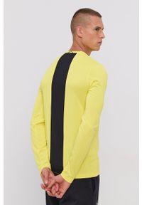 Peak Performance - Longsleeve. Okazja: na co dzień. Kolor: żółty. Materiał: włókno, dzianina, materiał. Długość rękawa: długi rękaw. Wzór: nadruk. Styl: casual