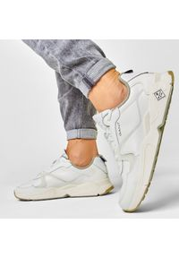 Białe sneakersy GANT z cholewką