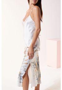 Wielokolorowa piżama Etam ze splotem