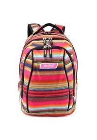 Target Plecak szkolny 2w1 , Kolorowe wzory. Wzór: kolorowy