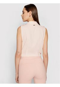 Marciano Guess Body 1GG463 9548Z Różowy Slim Fit. Kolor: różowy