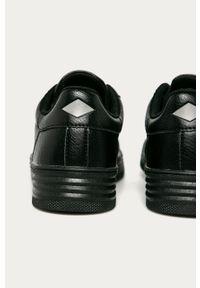 Czarne sneakersy Lee Cooper na sznurówki, z cholewką #4