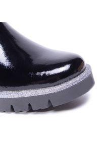 RenBut - Trzewiki RENBUT - 32-4389 Czarny Lakier. Kolor: czarny. Materiał: lakier, skóra. Szerokość cholewki: normalna. Styl: młodzieżowy #5