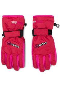Różowa rękawiczka sportowa Level narciarska