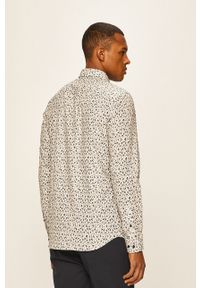 Biała koszula Premium by Jack&Jones na co dzień, z klasycznym kołnierzykiem