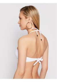 Białe góra bikini Karl Lagerfeld