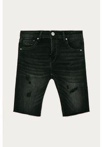 Czarne spodenki Pepe Jeans na co dzień, casualowe