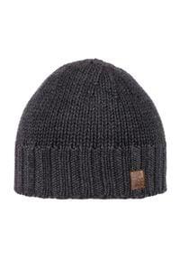 Szara czapka Spree na zimę, klasyczna