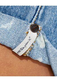 ONETEASPOON - Spodenki Bandits Low Waist. Stan: obniżony. Kolor: niebieski. Materiał: jeans