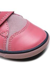 Bartek - Trzewiki BARTEK - 11703-021 Róż. Kolor: różowy. Materiał: skóra, zamsz. Szerokość cholewki: normalna