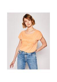 Pomarańczowy t-shirt O'Neill