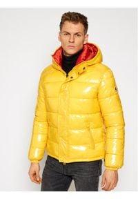 Invicta Kurtka puchowa 4431709/U Żółty Regular Fit. Kolor: żółty. Materiał: puch