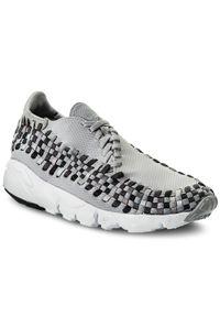 Szare sneakersy Nike z cholewką