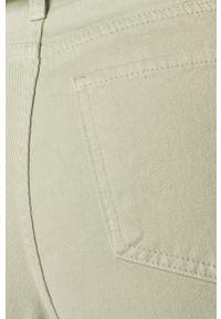 Miętowe jeansy ANSWEAR wakacyjne